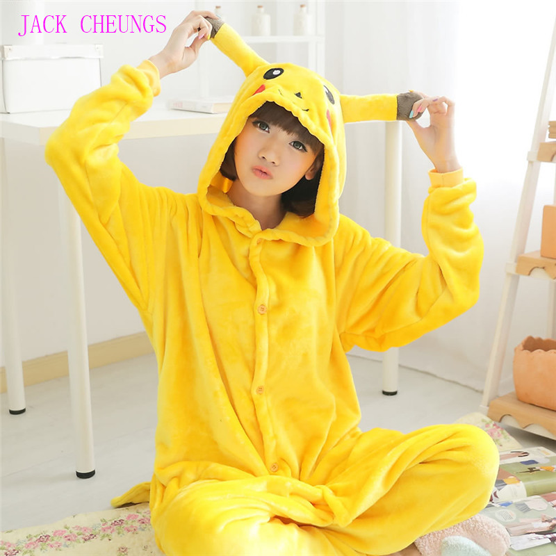 Kigurumi Cartoon Animal Costume Pikachu Onesies Pajamas Adult  Pyjamas Unisex Pijamas  ,sleepwear, Party Clothes