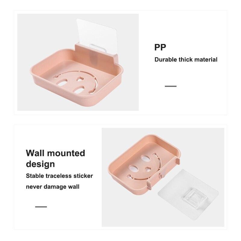 Мыло держатель ванная стена навесной липкий мыло тарелка лоток место для хранения тарелка стойка душ мыло ящик кухня полка корзина ванна аксессуары