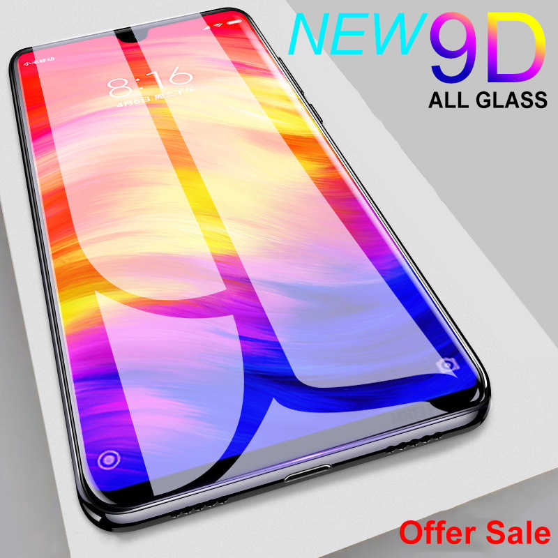 9D Protective Glass on the For Xiaomi Redmi 7 7A Note 7 5 5A 6 Pro Tempered Screen Protector Glass Redmi 5 Plus 6 Pro 5A 6A Film
