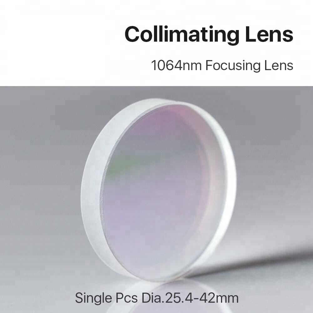 BM54 Laser Equipment Parts Fiber Focusing Lens D25.4