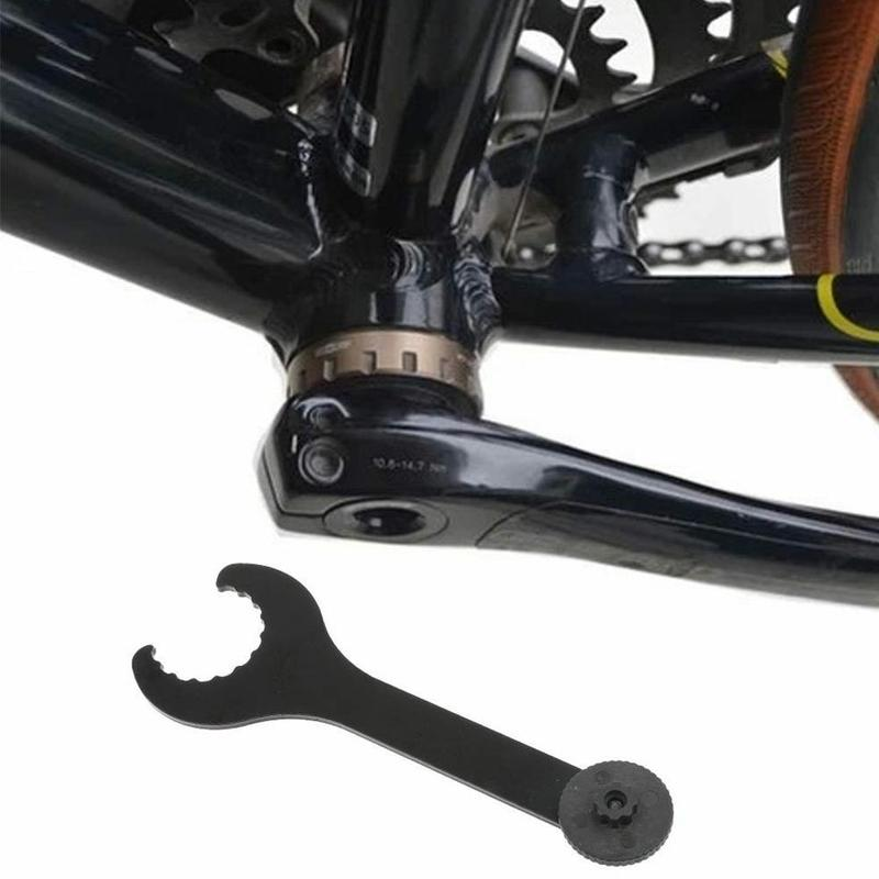 Bicycle Bottom Brackets Cranked Wrench Mountain Bike Installation Tools Removal Carbon Bicycle Repairing Wrench Spanner Ste U2B4
