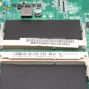 Image 3 - NOKOTION Laptop Motherboard FOR ACER aspire 5820G 5820T 5820TZG MBPTG06001 DAZR7BMB8E0 31ZR7MB0000 HM55 DDR3 free cpu
