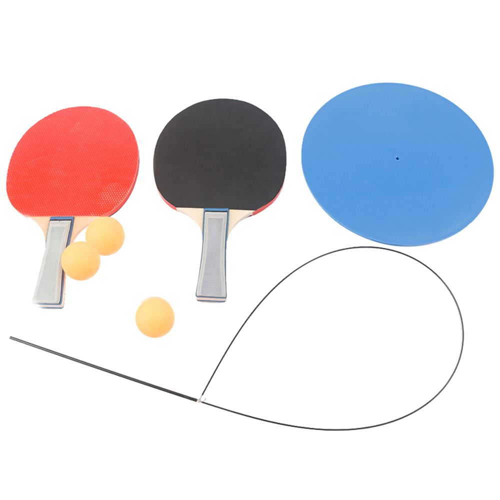 Table Tennis Trainer Racquet Ping Pong Racquets And Balls Base Training Practice Set Table Tennis Training Kit