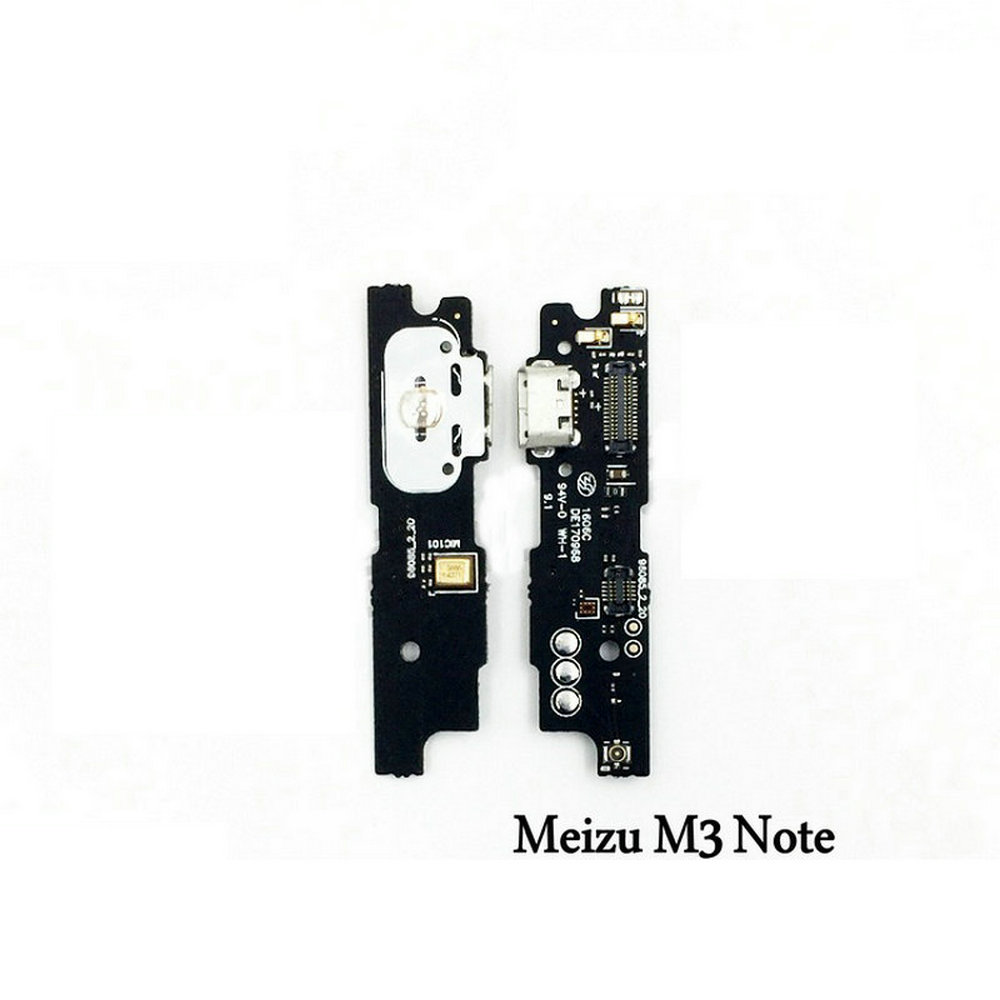 New Microphone Module+USB Charging Port Board Flex Cable Connector Parts For Meizu M3 Note M3Note Replacement