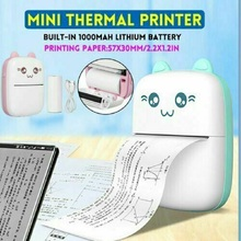 Label Printer Sticker Photo-Picture Thermal-Printing-Machine Mobile-Phone Bluetooth Office