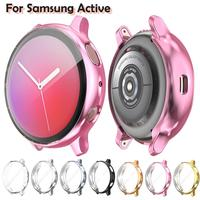 Screen Protector case for samsung galaxy watch active 2 Ultra thin Soft silicone full Protection cover for Galaxy Active 40/44mm|null|Uhren -