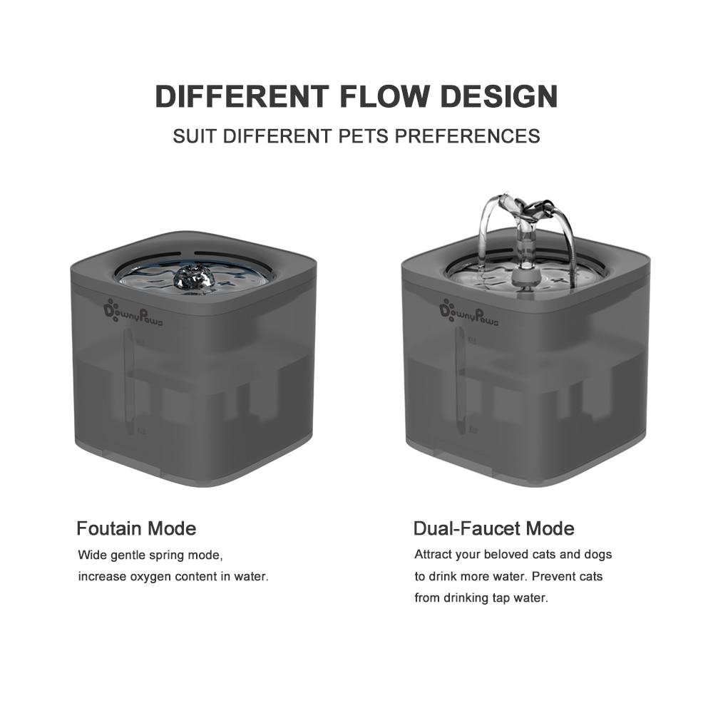 2Л Автоматический Питатель фильтра для воды для питомца кота питатель для воды умный поилка для кошек чаша для воды котенок щенок собака пит...