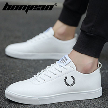 Men Shoes Spring Autumn Casual imitation leather Flat Shoes