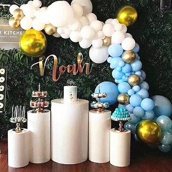 Свадебные Детские вечерние фоны для сцены цилиндрическая колонна большая арка для цветки из шаров десертный стол высокий торт стенд стойки