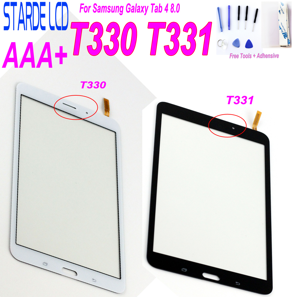 AAA+ Touch Screen For Samsung Galaxy Tab 4 8.0 T330 T331 T335 SM-T330 SM-T331 T332 T337 SM-T335 Touchscreen Panel Digitizer Part