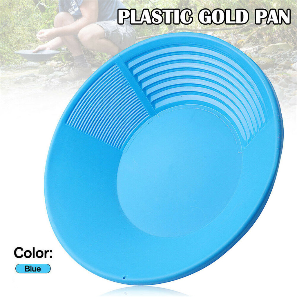 Gold Pan and Sifting Pan Combination Supplies for Your Gold Panning Kit