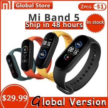 Xiaomi Mi Band 5 Smart Watch Heart Rate Yoga Sport Fitness Bracelet Mi Band 4 5 Watch Long Standby