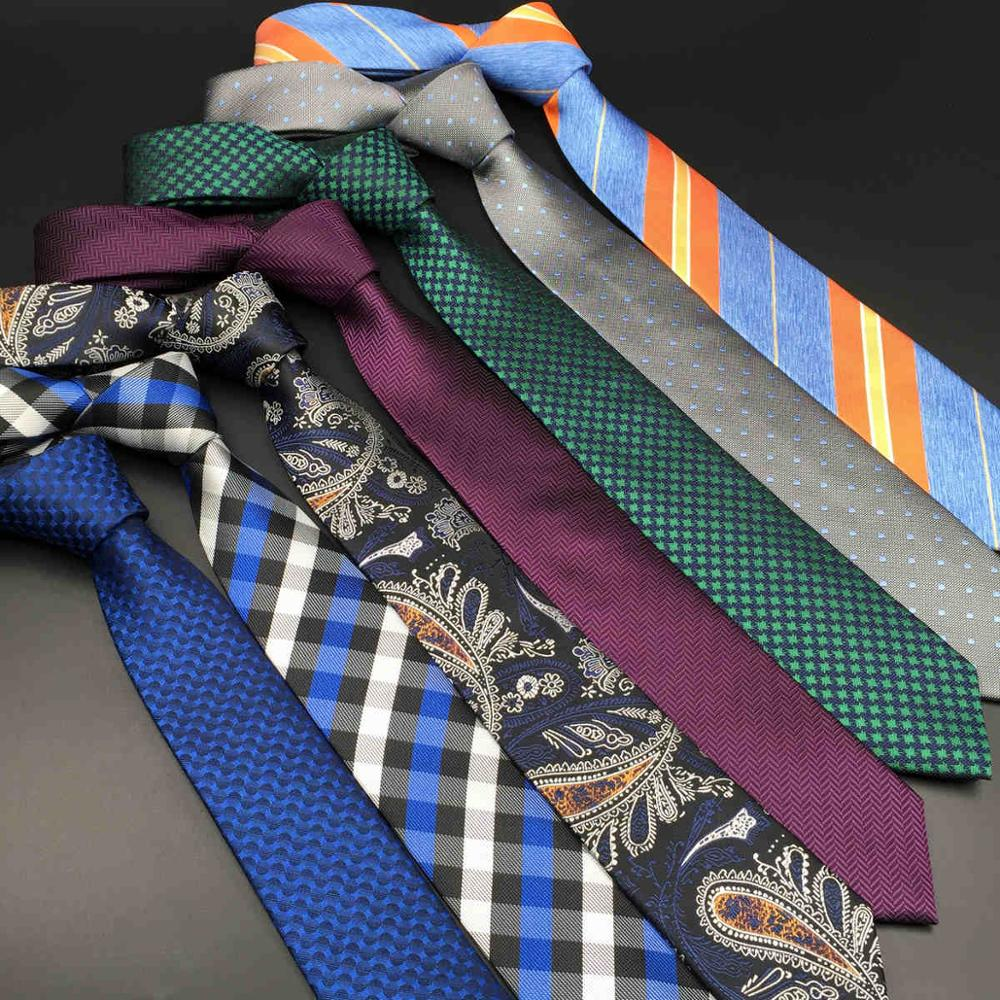 Fashion Silk Ties For Men Classic Extra Long Solid Mens Necktie Paisley 63