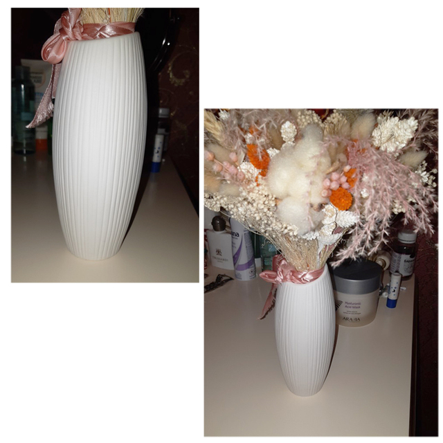 New European Simple White Ceramic Vase Nordic Home Flower Inserter Modern Simple Vases Creative House Living Room Decorations 4