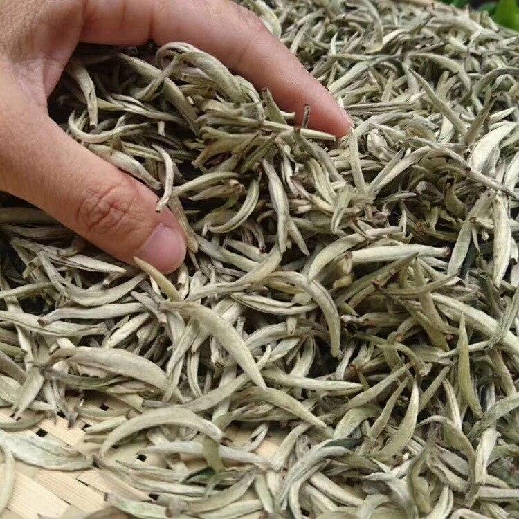 150g White Tea Chinese Bai Hao Yin Zhen White Tea Silver Needle Tea For Weight Loose Tea Natural Organic Beauty Health Food