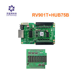 RV901T with HUB75B 8xHUB75B LED receiving card LED screen display synchronous full color controller Work with TS802D TS921