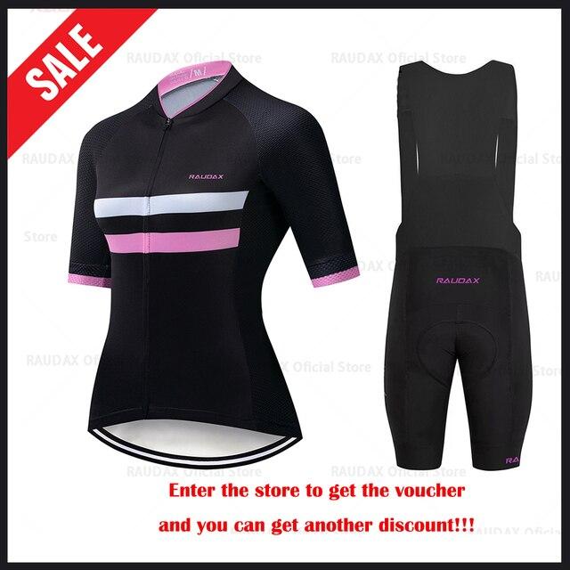 HuanGe 2020  Ciclismo  High Quality Women Summer Short Sleeve Cycling Clothing Cyc Clothes  cycling clothing  bike uniform