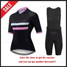 HuanGe 2020 Ciclismo wysokiej jakości kobiety lato z krótkim rękawem odzież rowerowa Cyc odzież rowerowa odzież rowerowa jednolita