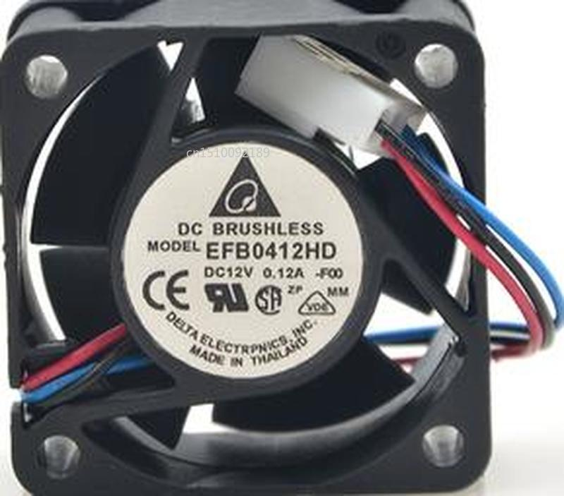 For Original EFB0412HD 4020 12V 0.12A 4CM / Cm Double Ball Exchange Fan Free Shipping