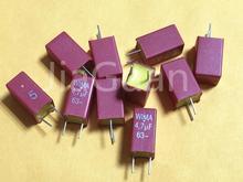 10PCS החדש אדום WIMA MKS2 4.7UF 63VDC 475/63V PCM5 מכירה לוהטת 4700nf 4.7u 63v MKS2C044701M00JSSD