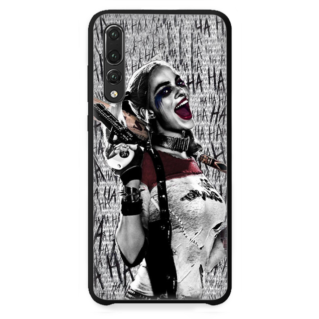 Harley Quinn Suicide Squad Phone Case Cover For Huawei P9 P10 P20 ...