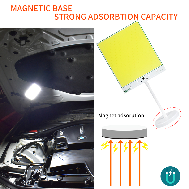 Outdoors Road Travel Household Emergency Lighting Ip65  Foco Camping Tent Light Portable Lantern Rechargeable Repair Cars