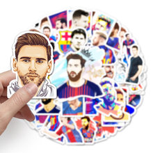 51Pcs/Pack Football Star Messi Graffiti StickerS For Luggage Laptop Bike Phone Case Kid Sticker Toy Gift Pegatinas Skateboard my