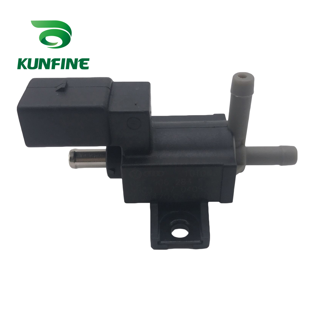 KUNFINE Turbo Boost Control Valve Turbocharger Solenoid Valve For AUDI A6L A4L Q5 Tiguan MAGOTAN Tuoran Part NO. 06F 906 283 F