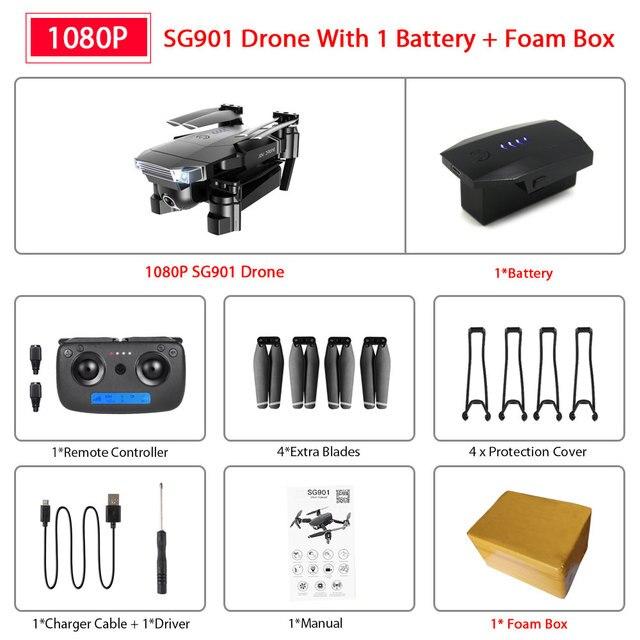 SG901 1080P 1B Foam