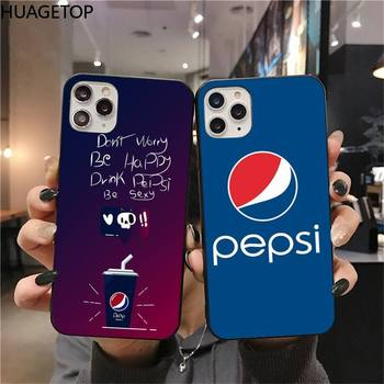 Coke brand Peps Phone Case for iphone 12 pro max 11 pro XS MAX 8 7 6 6S Plus X 5S SE 2020 XR case image