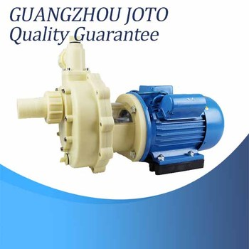 Industrial Plastics Acid And Alkali Resistance 11m Lift Chemical Water Pump industrial water pollution