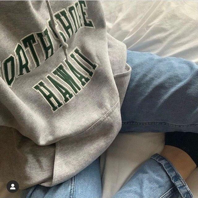 brandy Oversized hoodies 2020 Autumn winter woman sweatshirt for teens girls Fleece thick Sportswear school clothes korean style 3