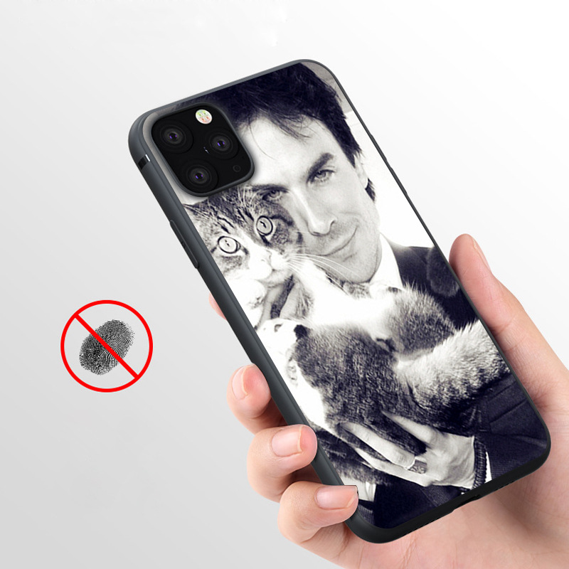 Coque Ian Somerhalder Soft Silicone Phone Case for iPhone 11 Pro Max X 5S 6 6S XR XS Max 7 8 Plus Case Phone Cover