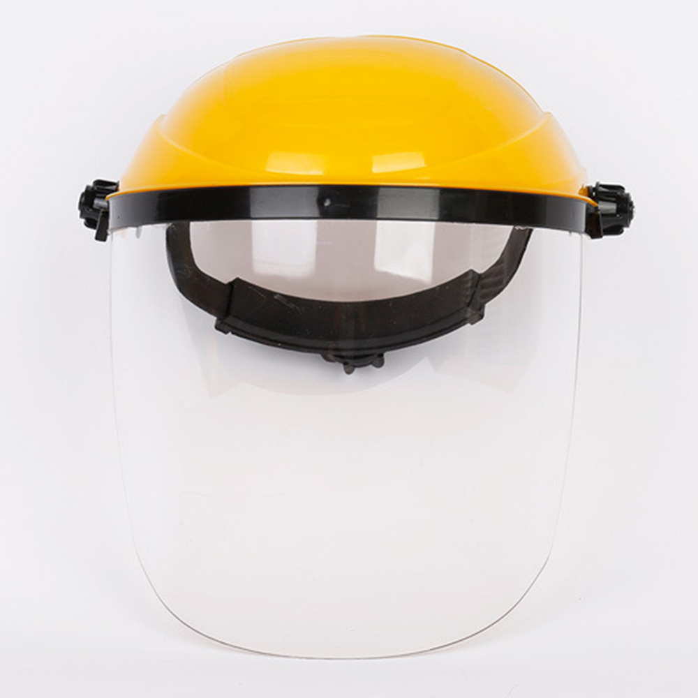 Guard Full Face Safety Soldering Anti Splash Protective Mask Portable Brush Cutter Welding Helmet Tool Head-mounted Hat