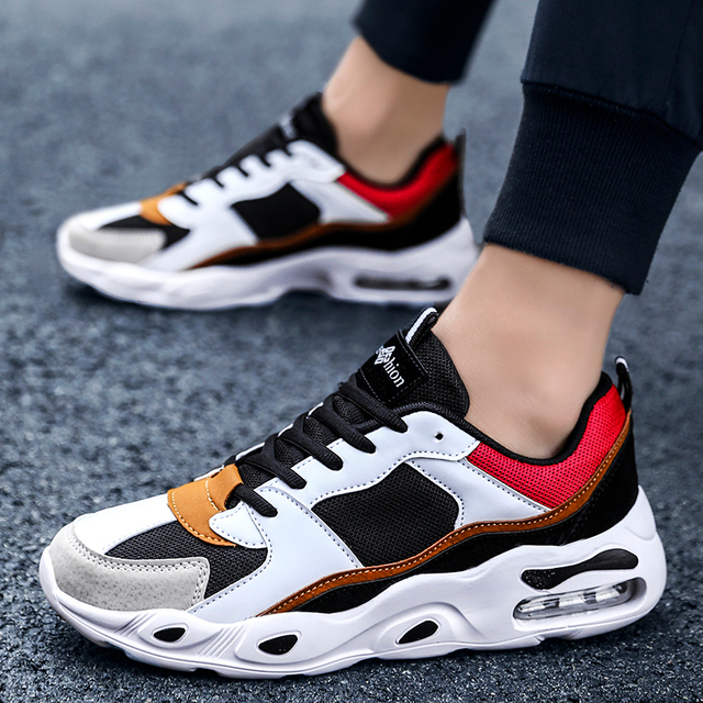 Men Casual Shoes Spring Summer Fashion Men S Sneakers Outdoors Mesh Shoes Men Lace Up Breathable