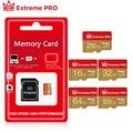 Micro SD TF-карта 8 ГБ 16 ГБ 32 ГБ 64 Гб 128 Гб класс 10 Флэш-память Microsd карта 8 16 32 64 128 ГБ для смартфона Бесплатный адаптер