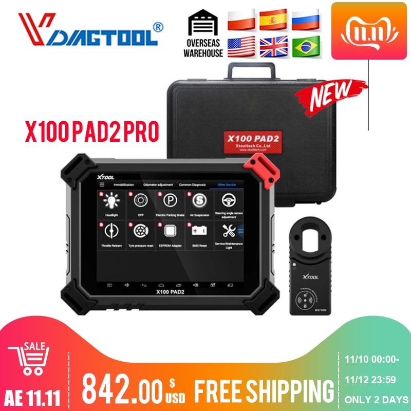 XTOOL X100 PAD2 Pro Pad 2 лучше, чем X300 Pro3 DP Auto Key Программист с 4 м и 5 м Immo для большинства моделей автомобилей-in Программаторы с автоповтором from Автомобили и мотоциклы on AliExpress - 11.11_Double 11_Singles' Day