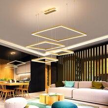 Brown/Gold Creative DIY Modern led pendant lights For Dining Living room kitchen lamp lamparas de techo colgante moderna