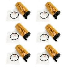 Yubao 6PCS Motoröl Filter für Bmw N57 3,0 L N47 2,0 L 11428507683 X5 X3 328d 535d F06 f15 F21 F22 F34 F35 F80