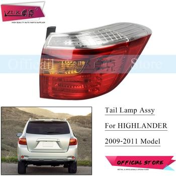 ZUK Tail Light Tail Lamp Sub-Assy For TOYOTA HIGHLANDER KLUGER ASU40 GSU45 2009-2011 Rear Taillight Taillamp Exterior Car Lights
