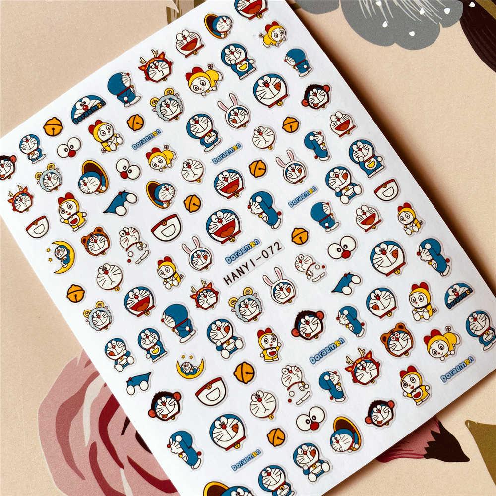 HANYI-092-096-097-098 Hình Nhân Vật Hoạt Hình 3D Lưng Keo Dán Móng Tay Decal Miếng Dán Móng Tay Trang Trí Móng Tay Móng Tay Nghệ Thuật Dụng Cụ Bấm Móng Tay Móng Vật Trang Trí