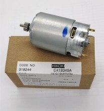 12 zähne 12V 9,6 V Motor Echtem Teile 318244 für HITACHI DS12DVF3 FDS12DVA FDS9DVA DS9DVF3 DS12DVFA RS 550VC 8022 Motor