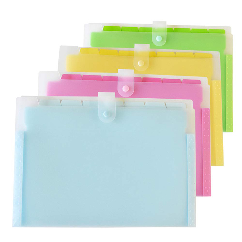 Expanding File Folder With 8 Pockets, Accordion Paper Document Organizer With 28 Pcs File Folder Labels For School And Office, P