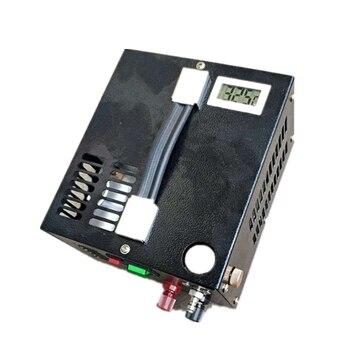 цена на 4500psi 300bar 30mpa 12V PCP Air Compressor Mini Inflator Pump With 110/220V Transformer Vehicle High Pressure Air Compressor