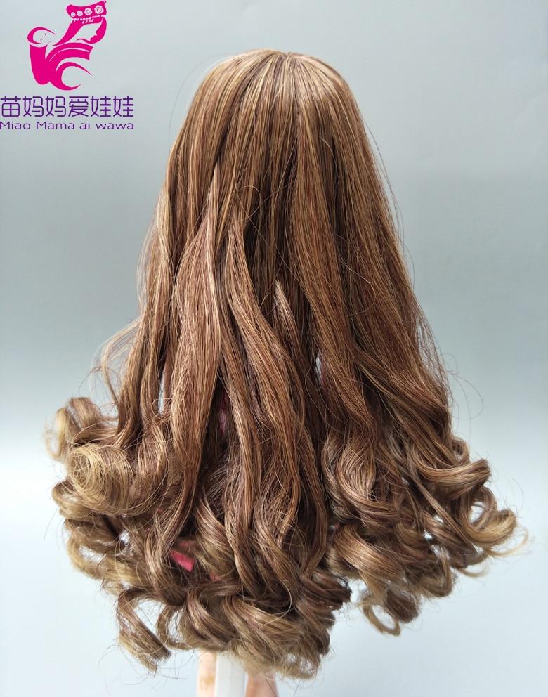 Curly Doll Hair For Barbie Doll Repair Diy  Doll Hair Replace