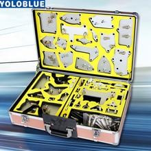 116Pcs อลูมิเนียม Professional Auto น้ำมันเกียร์อัตโนมัติเปลี่ยนปั๊มเกียร์ Quick Simple Joint conector