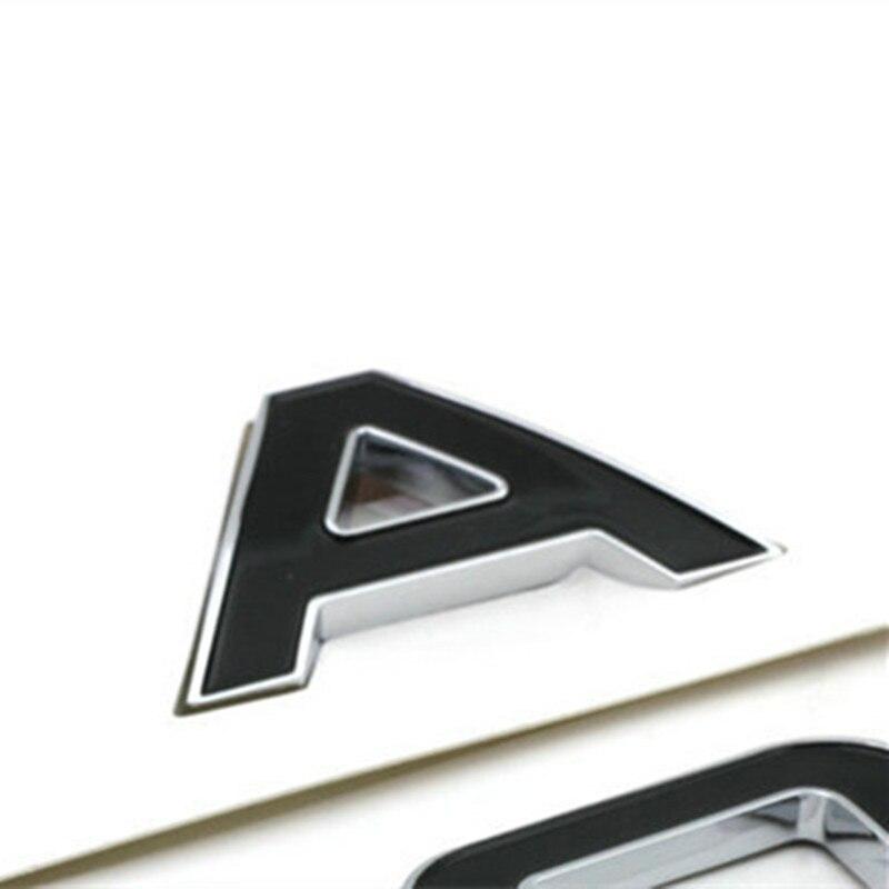 Emblema in ABS per cofano auto con lettere del logo Rangerover