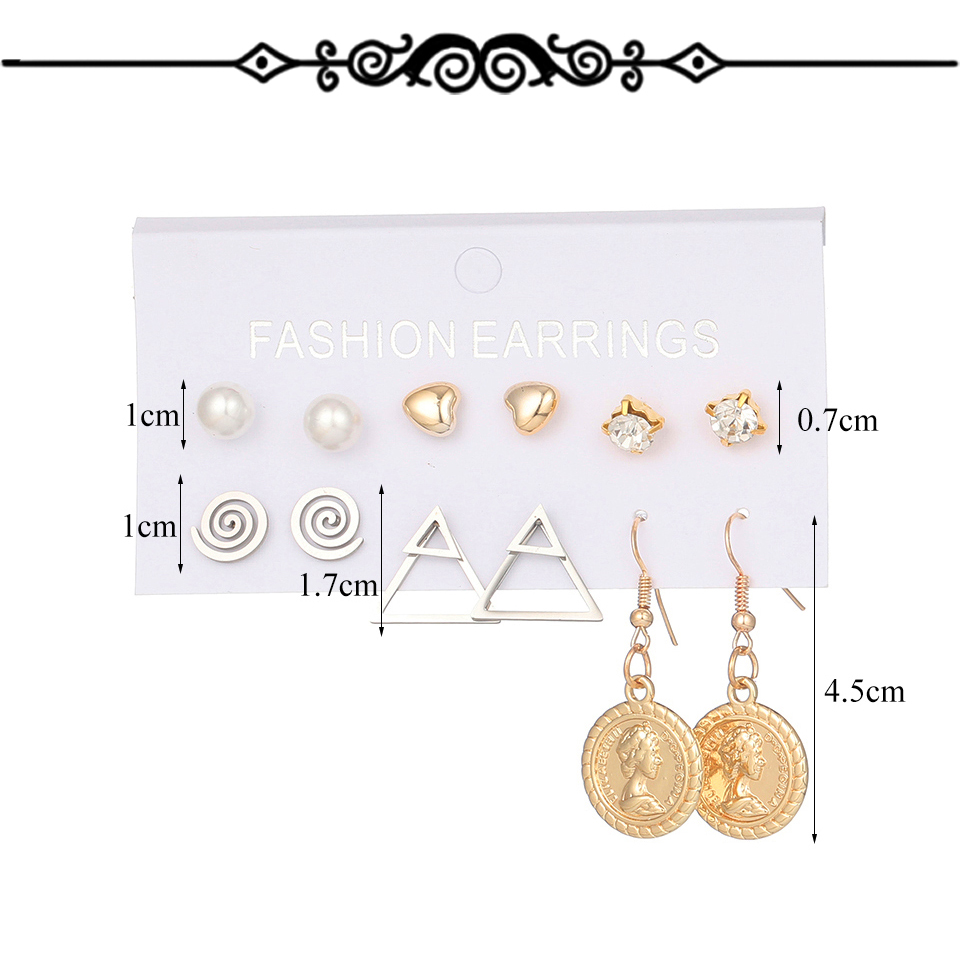 H229564d3bd8f4de0aee436f3a6184c6bT - Multiple Women's  Boho Ethnic Drop Earrings