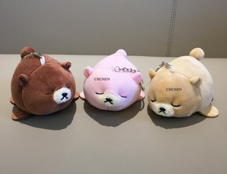 NEW Bear Plush , Animal Stuffed Bear Key chain TOY, Kid's Party Plush TOY , Bouquet Plush Dolls