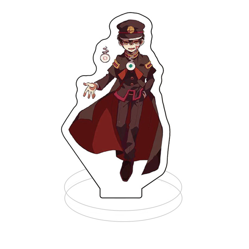 Anime Toilet-Bound Hanako-kun Figure Keychain Cute Cartoon  Cosplay Acrylic Desk Stand Figure Model